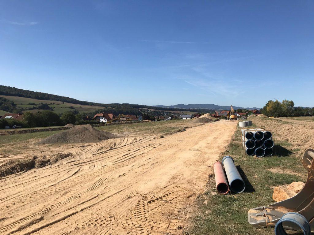 Baugebiet Mühlenfeld/Riesenrain